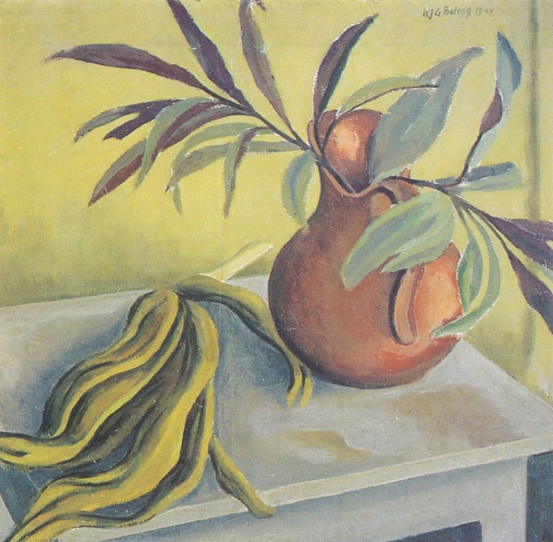 Painting of a vase