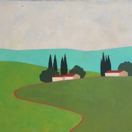 Kibbutz Landscape by ITZU RIMMER [1998]