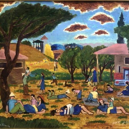 Kibbutz by Yohanan Simon [1960]