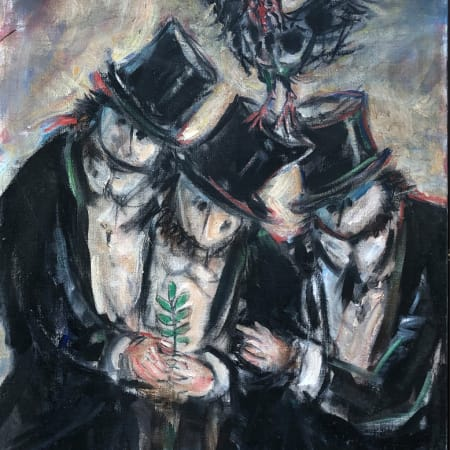 The Zionists by Yosl Bergner [1998]