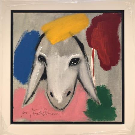 Grey Red Sheep by MENASHE KADISHMAN [2000]
