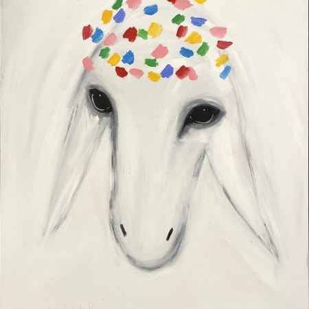 Big White Sheep by MENASHE KADISHMAN [1990]