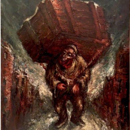 BONTCHE SHWEIG by Yosl Bergner [1941]