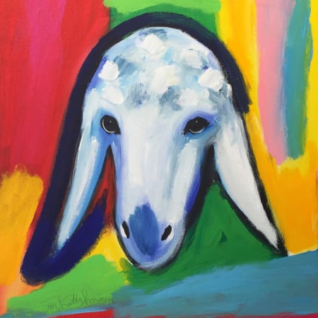 Cloudy Sheep by MENASHE KADISHMAN [2000]
