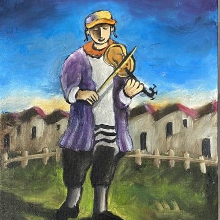 Fiddler by Yosl Bergner [2020]