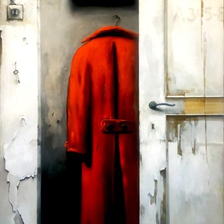 Red coat by Dim Yuz [2020]