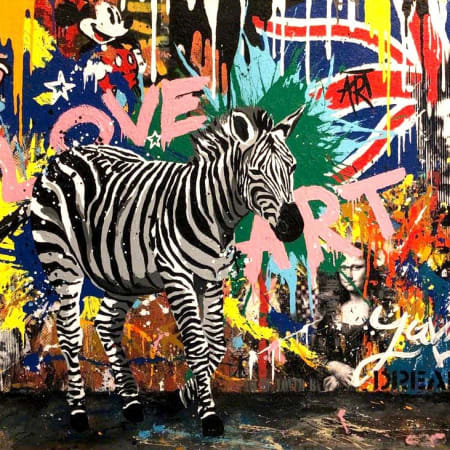 Urban Zebra by Yuvi [2018]