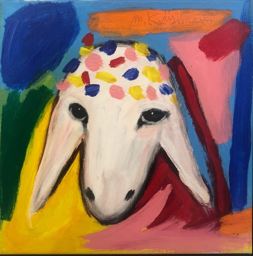 Pink Sheep by MENASHE KADISHMAN [2000]
