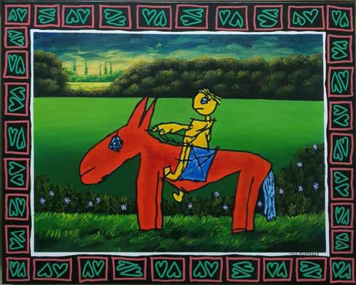 Donkey by MEIR PICHHADZE  [2000]