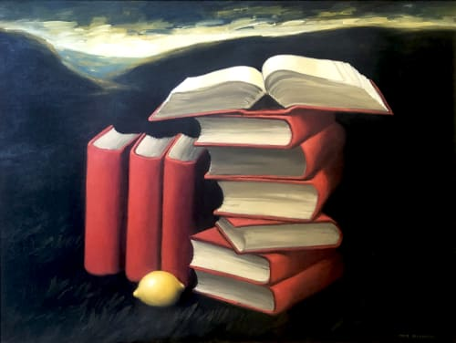 Open Book by MEIR PICHHADZE  [2000]