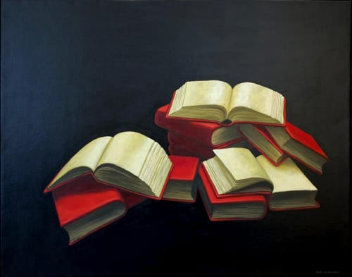 Open Books by MEIR PICHHADZE  [1990]