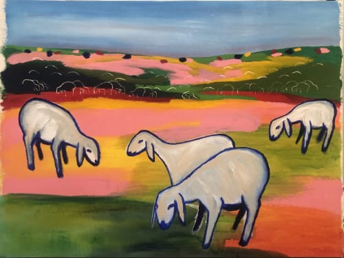 Pasture by MENASHE KADISHMAN [1990]