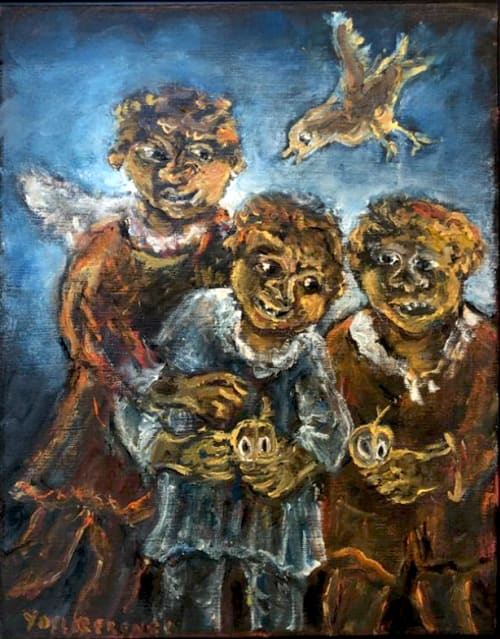 Aboriginal 2 by Yosl Bergner [2013]