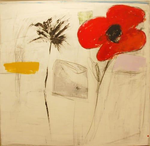 Big Red Flower by SALAH ALKARA [2013]