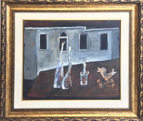 Bird and Friends by Yosl Bergner [2000]