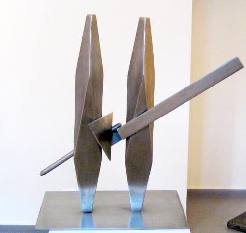 Boaz and Jachin by IGAEL TUMARKIN [1990]