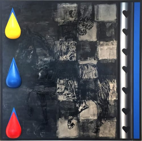 Cavalier by MEIR PICHHADZE  [1990]