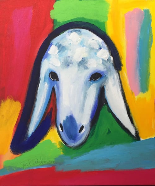 Cloudy Sheep by MENASHE KADISHMAN [2000]