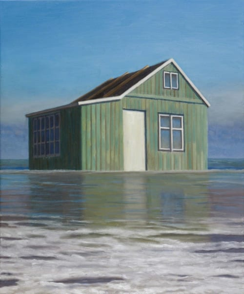 Dacha in the Sea by Alex Tubis [2016]