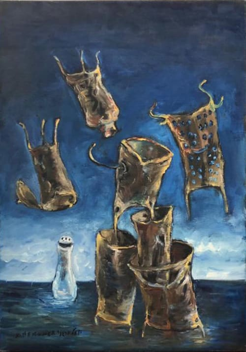 Flying Tools by Yosl Bergner [1998]