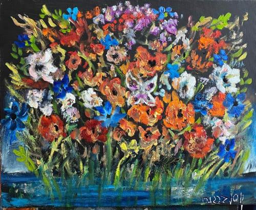 Swamp Flowers by Yosl Bergner [2000]