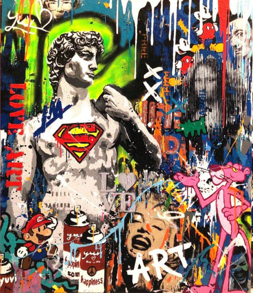 Super David by Yuvi [2018]