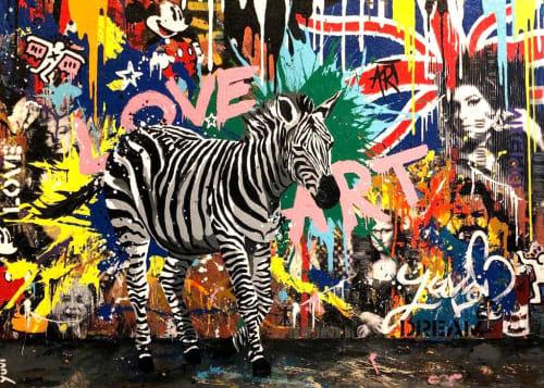 Urban Zebra by Yuvi [2018]