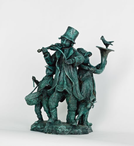 The Merry Musicians by Yosl Bergner [2012]