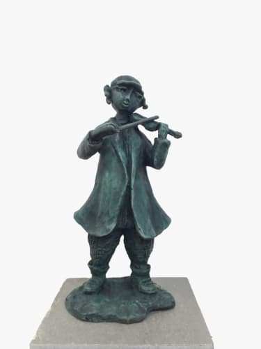 Fiddler by Yosl Bergner [2012]