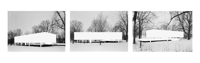 Missing Mies (triptyich) by YAIR BARAK [2011]