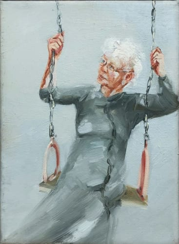 Mom Swinging2 by VERED AHARONOVITCH [2017]