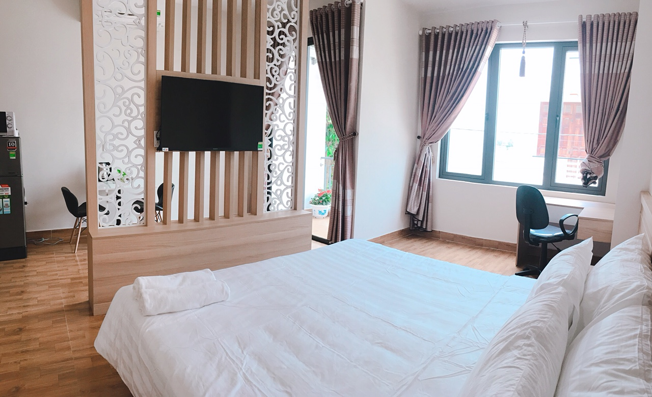 Decent studio apartment for rent in An Thuong area
