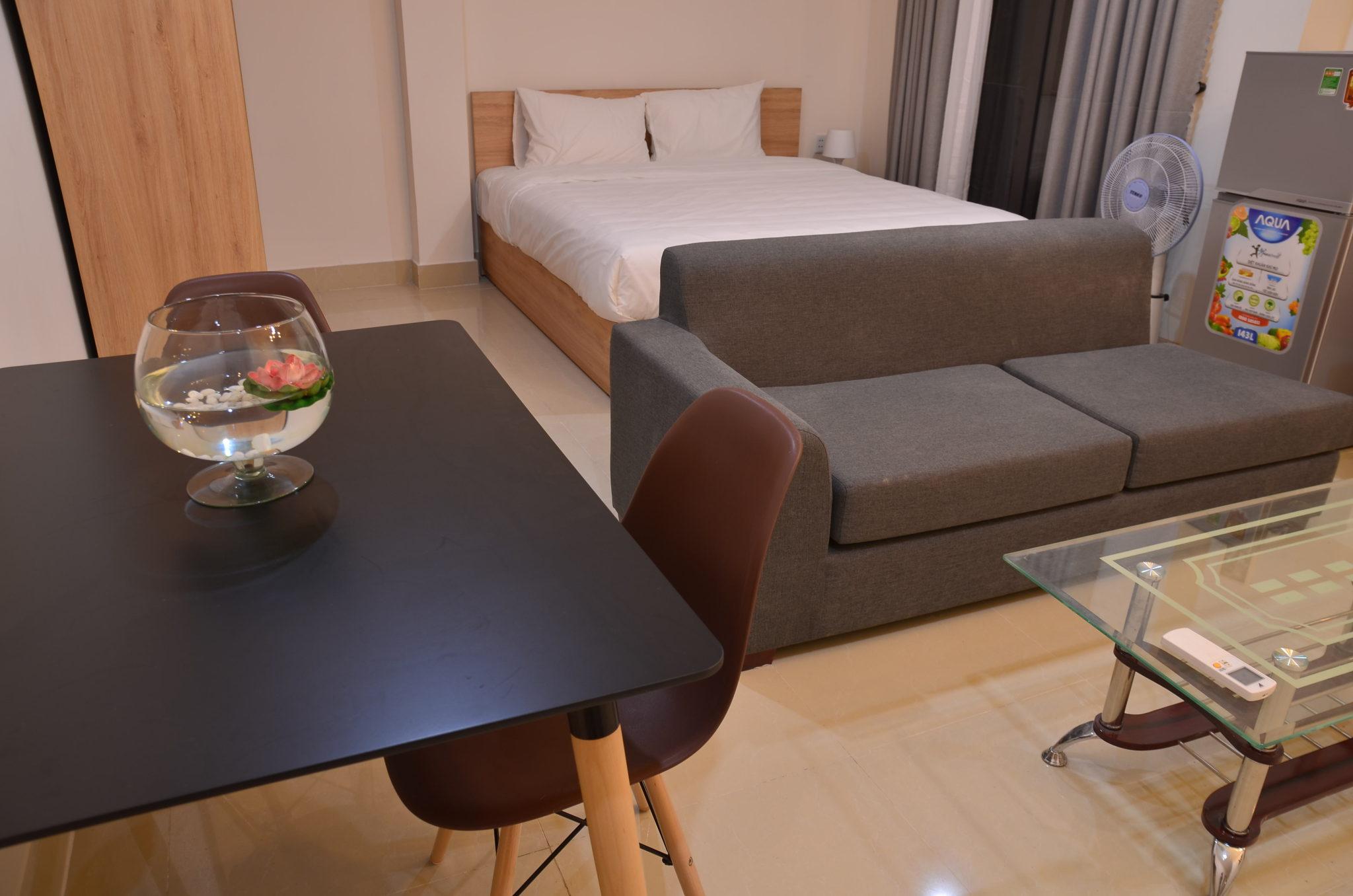 Studio apartment in Da Nang city center