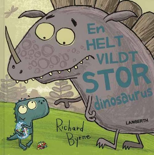 En helt vildt stor dinosaurus