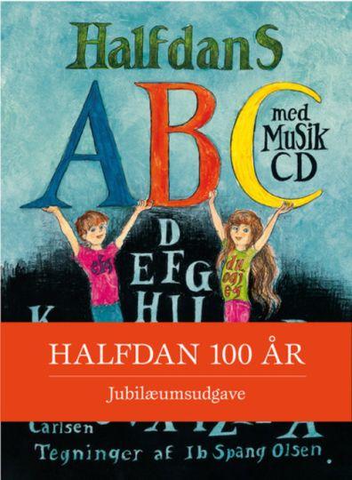 Halfdans abc med musik cd. Halfdans abc