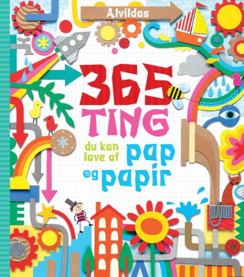Alvildas 365 ting du kan lave af pap og papir