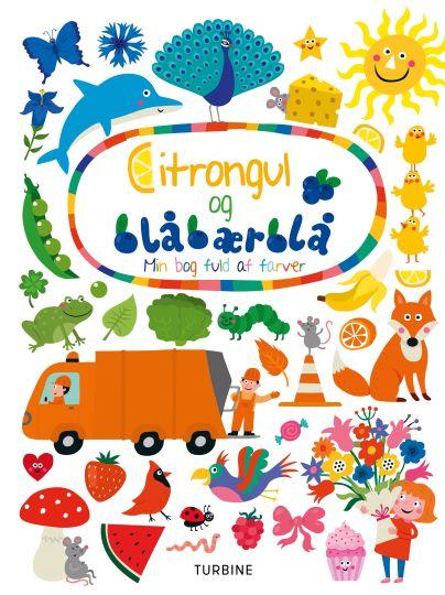 Citrongul og blåbærblå - min bog fuld af farver