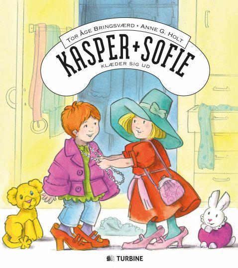 Kasper og Sofie klæder sig ud