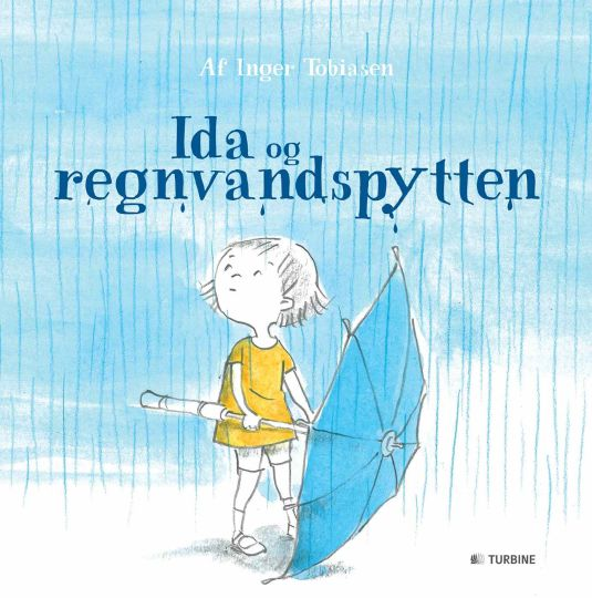 Ida og regnvandspytten