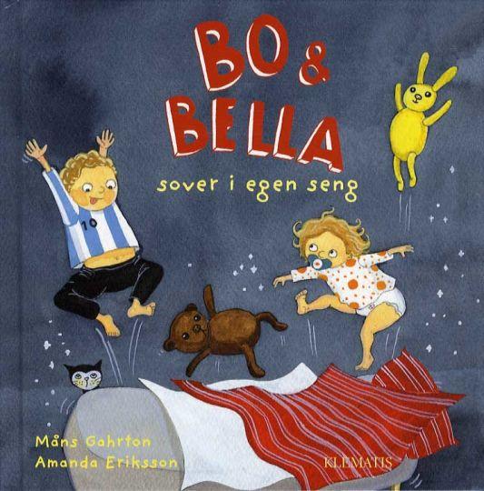Bo & Bella sover i egen seng