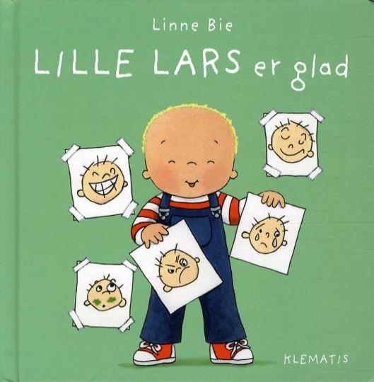 Lille Lars er glad