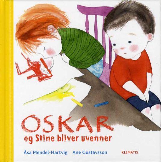 Oskar og Stine bliver uvenner