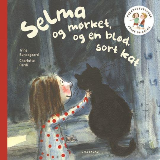 Selma og mørket og en blød, sort kat