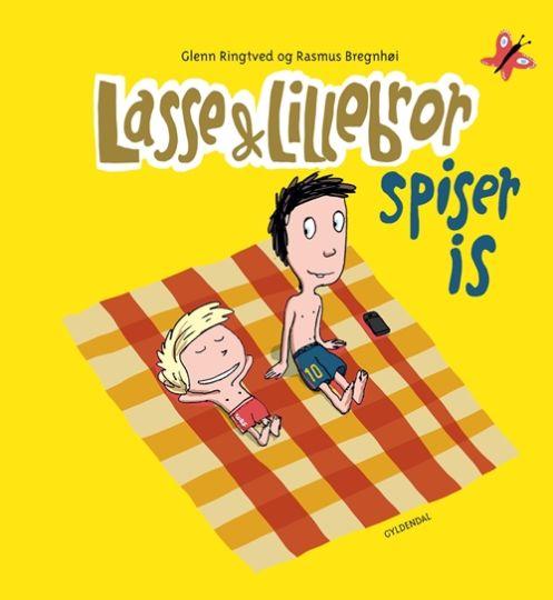 Lasse & Lillebror - spiser is