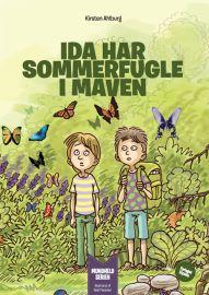 Ida har sommerfugle i maven
