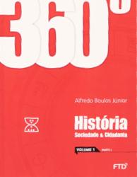 banner do ensino médio da coleção 360° História, Sociedade e Cidadania (Volume 1)