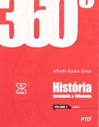 banner do ensino médio da coleção 360° História, Sociedade e Cidadania (Volume 2)