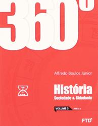 banner do ensino médio da coleção 360° História, Sociedade e Cidadania (Volume 3)