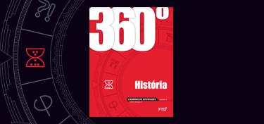 banner do ensino médio da coleção 360° História, Sociedade e Cidadania (3 volumes)
