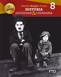 banner do ensino fundamental 2 da coleção História, Sociedade e Cidadania, 8º ano